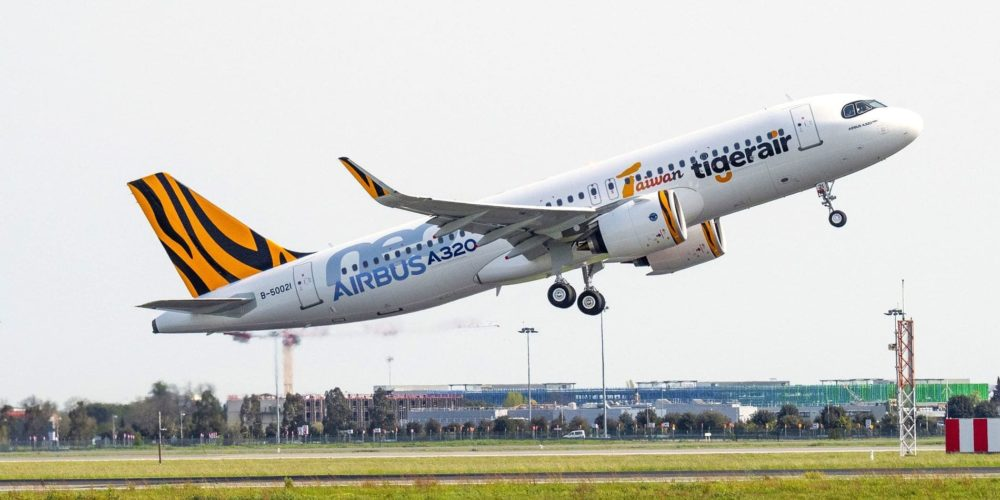 1er A320neo Tigerair Taiwan