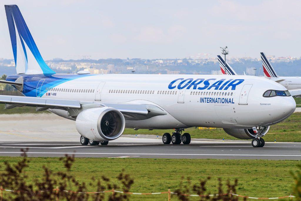 A330neo Corsair (F-HRNB) le 15 avril à ORY