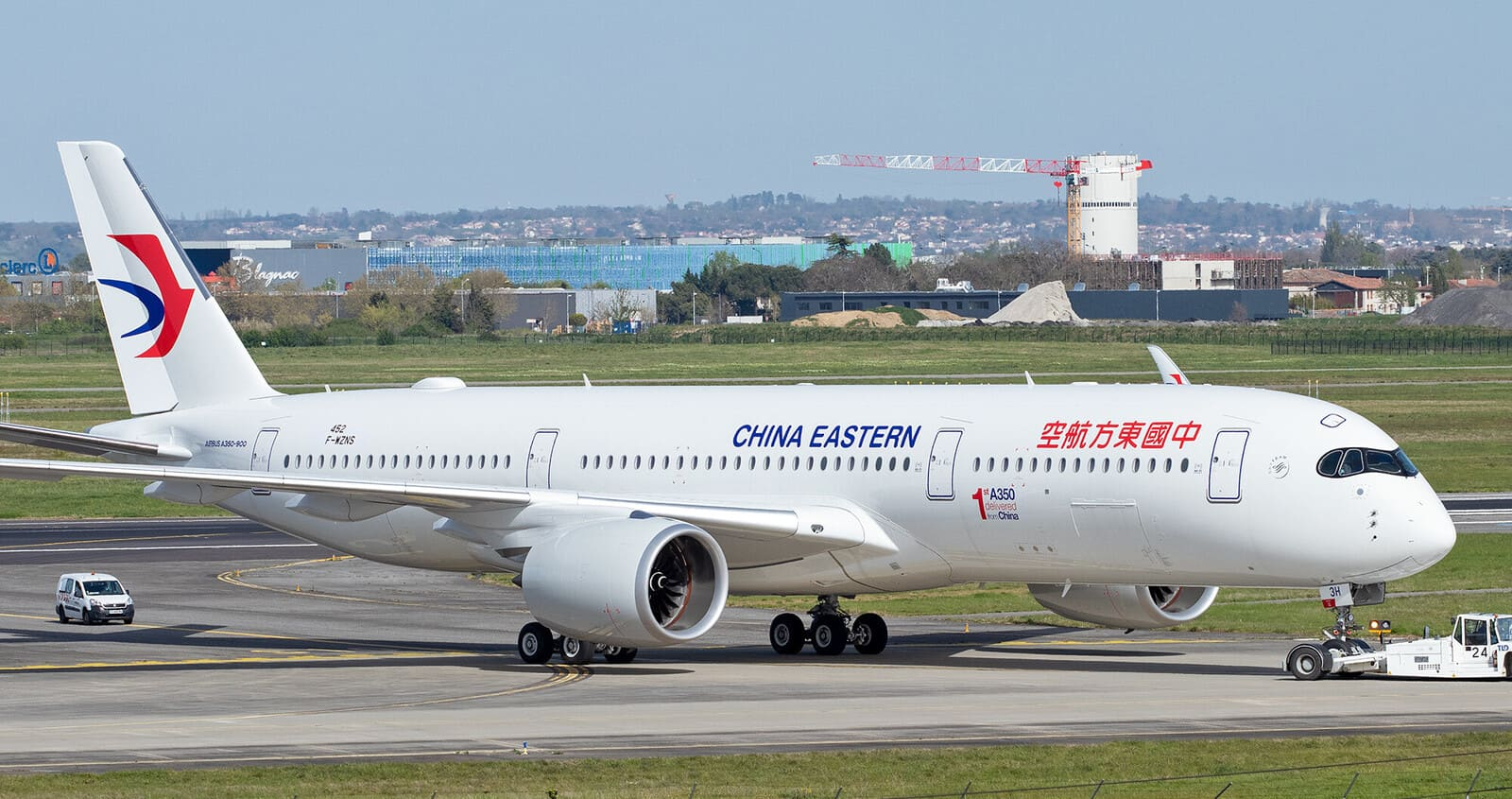 A350-941 China Eastern (F-WZNS / B-323H / msn452)