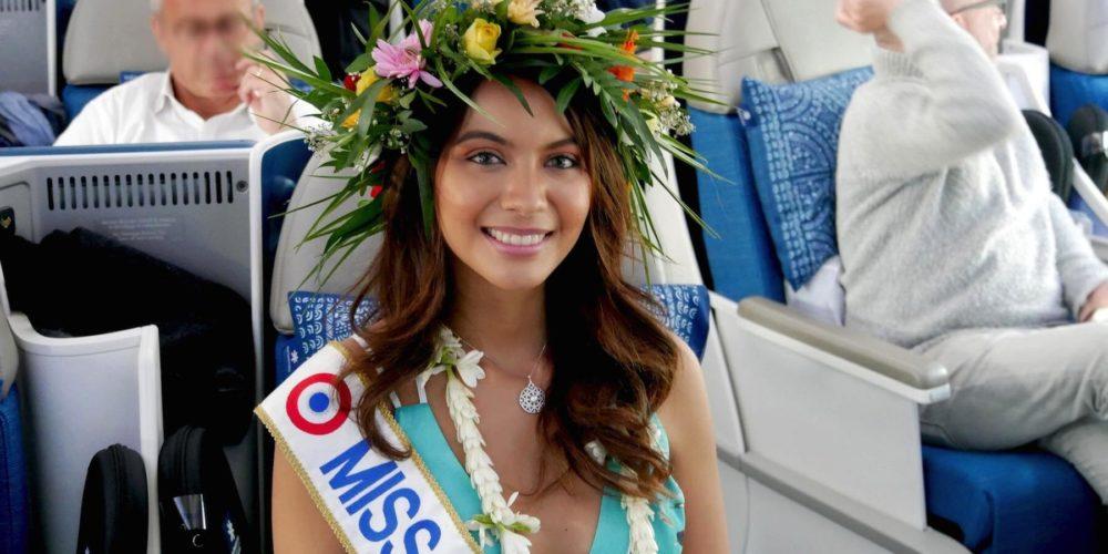 Miss France 2019 et Miss Tahiti 2018 Vaimalama Chaves