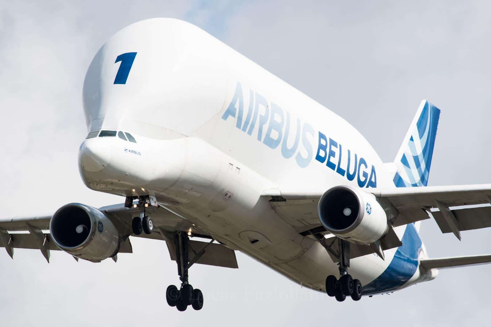 BELUGA ST n°1 arrivée à Bordeaux (29 avril 2021)