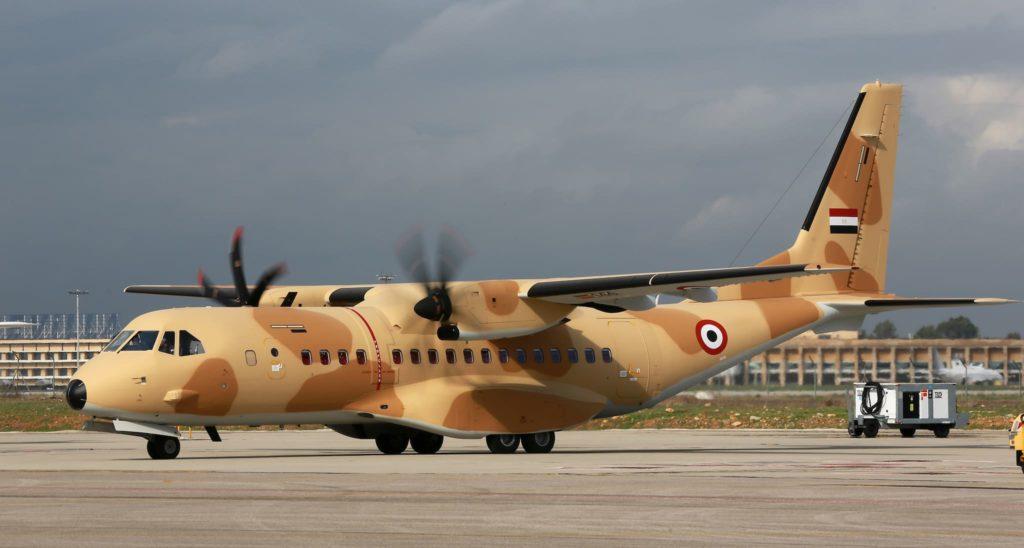 Airbus C295 de l'Égypte