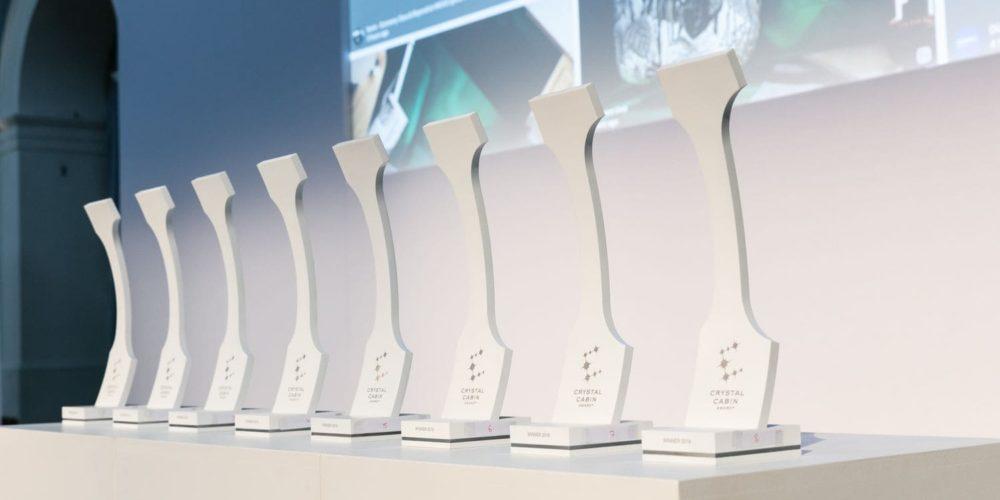 Les trophées Crystal Cabin Award