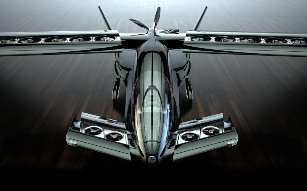 Concept eVTOL Cavorite X5