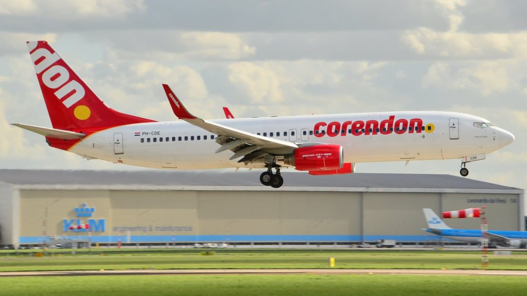 Corendon Dutch Airlines Boeing 737-800 NG