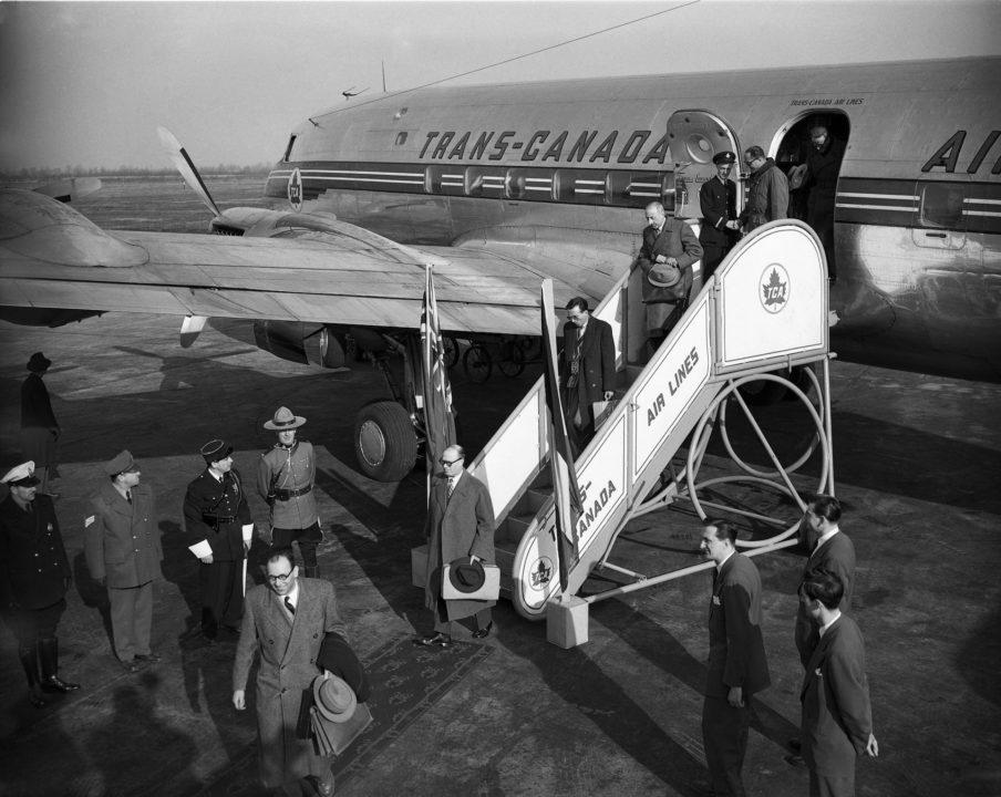 Les passagers du 1er vol au départ de Orly