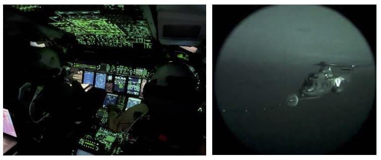 H225M Caracal Armée de l'air et de l'espace et A400M