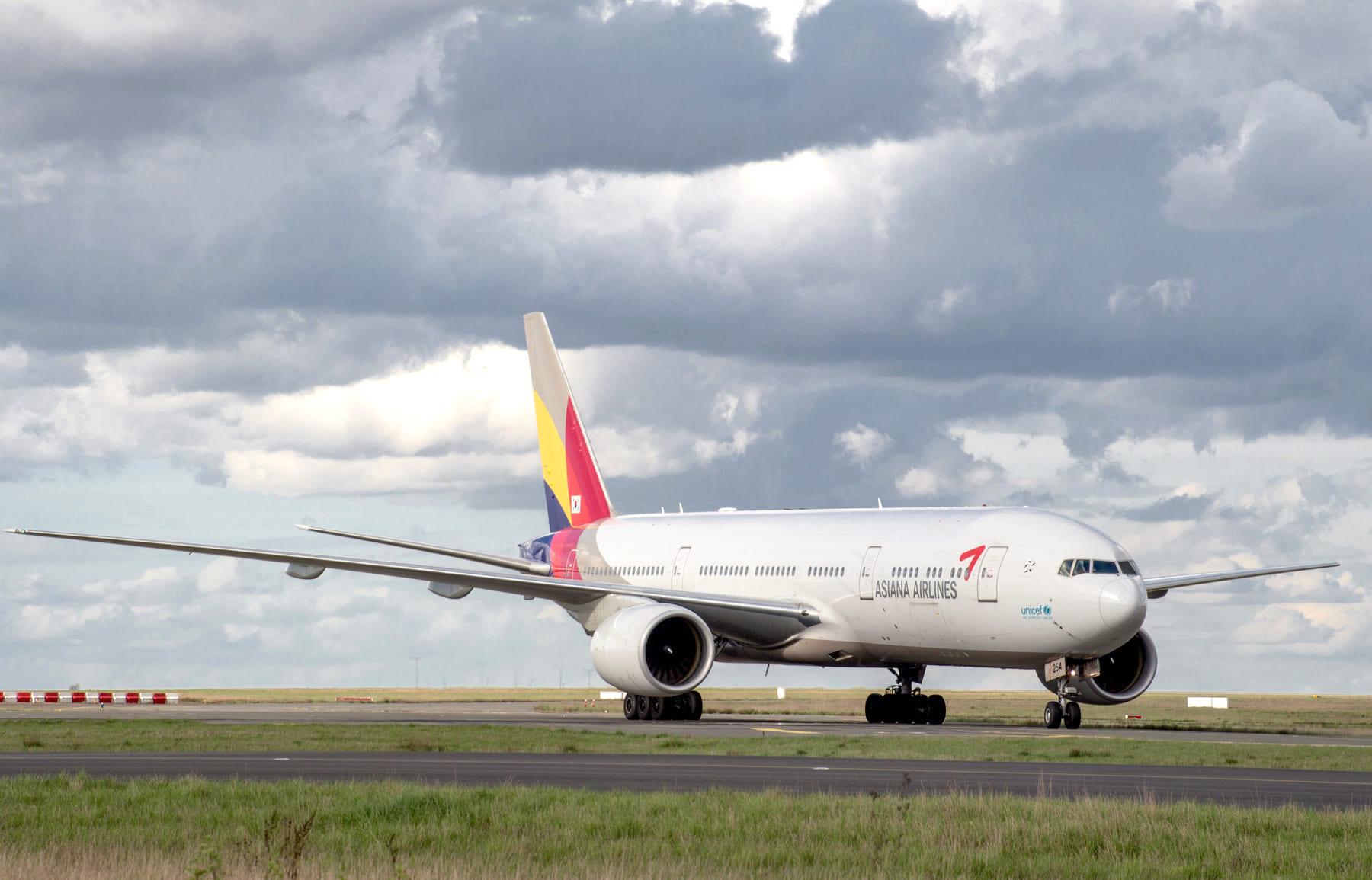 Boeing 777 Asiana