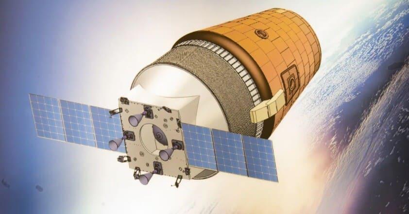 Vue 3D de la capsule indienne pour le vol habité