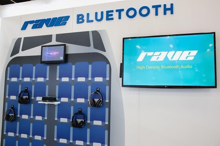 Bluetooth du système de divertissement à bord RAVE