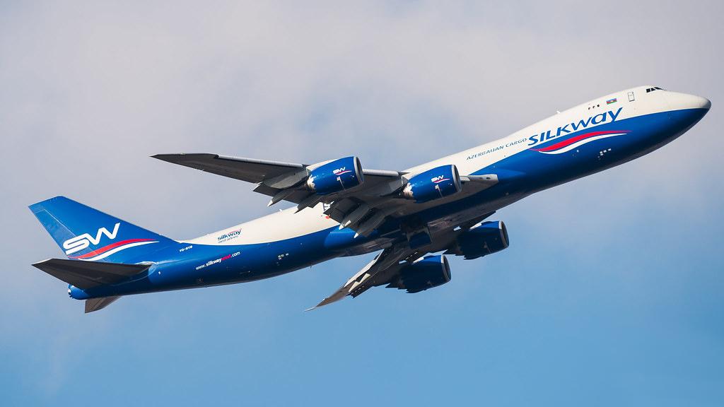 Boeing 747-83Q(F) Silk Way West Airlines VQ-BVB