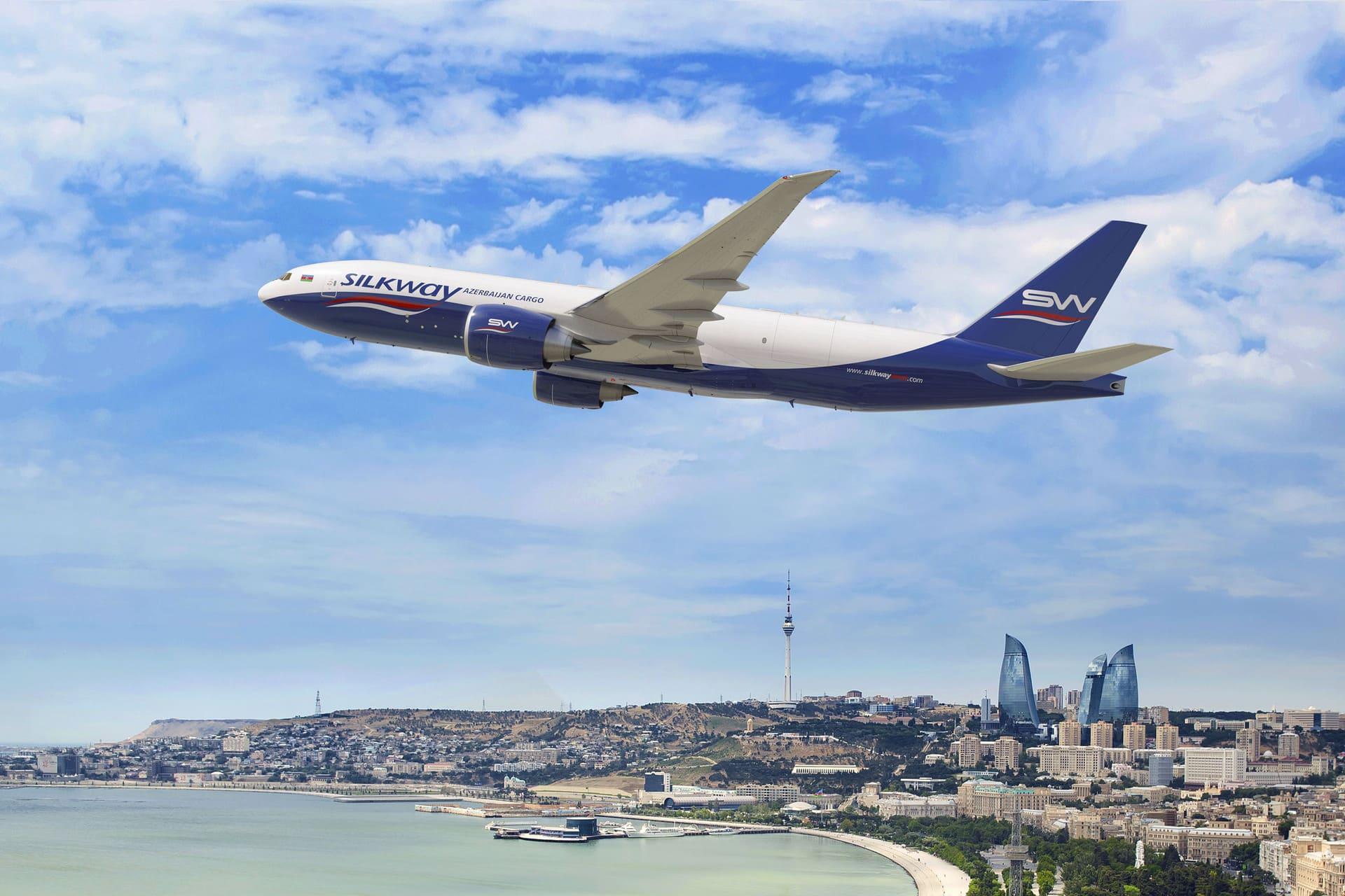 Boeing 777 Freighter Silk Way West Airlines