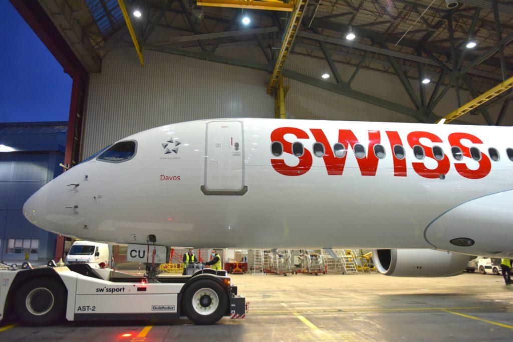 30e Airbus A220 SWISS [HB-JCU]