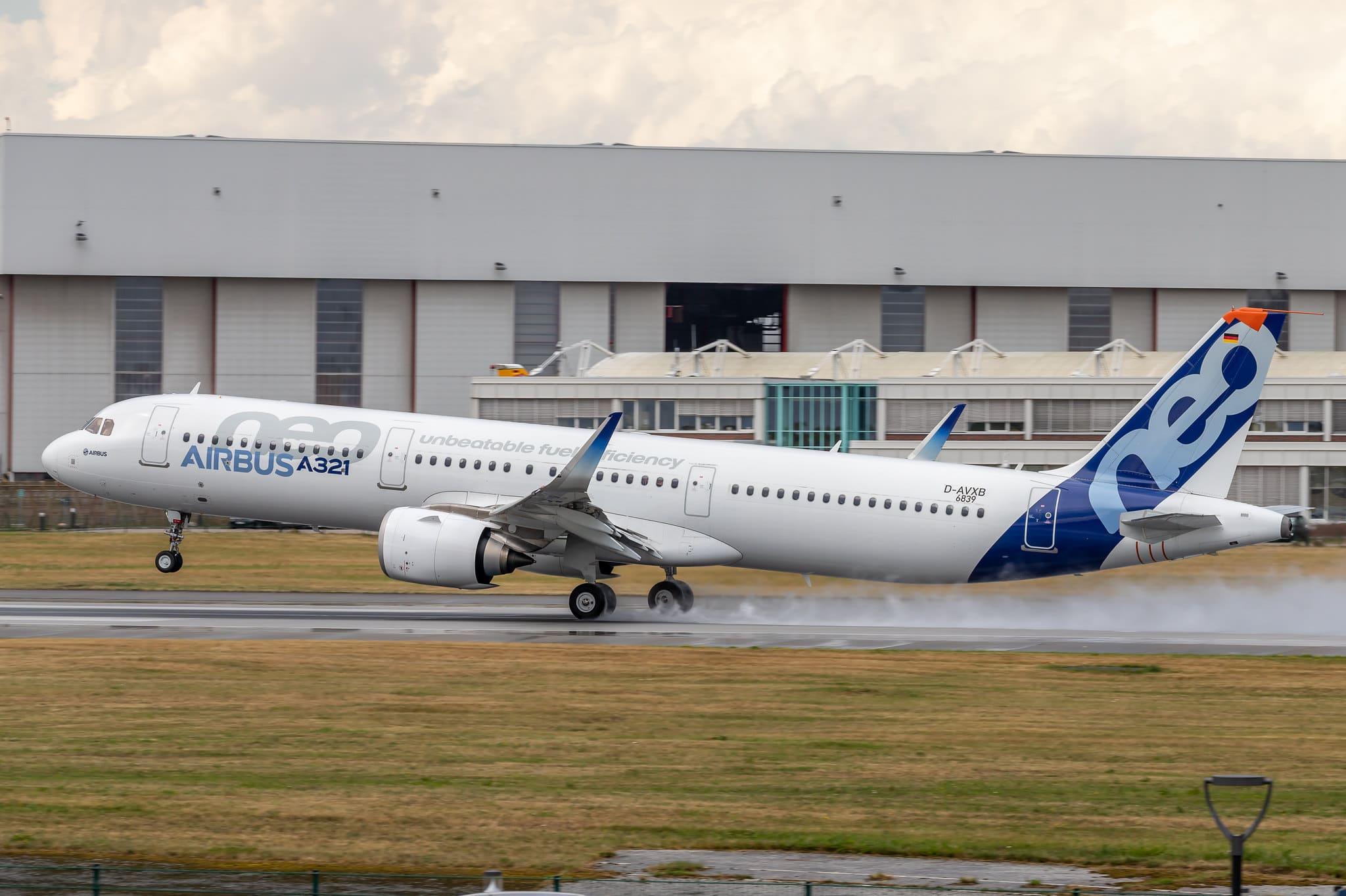 Airbus A321neo D-AVXB MSN6839