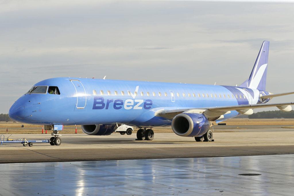 Breeze Airways E195