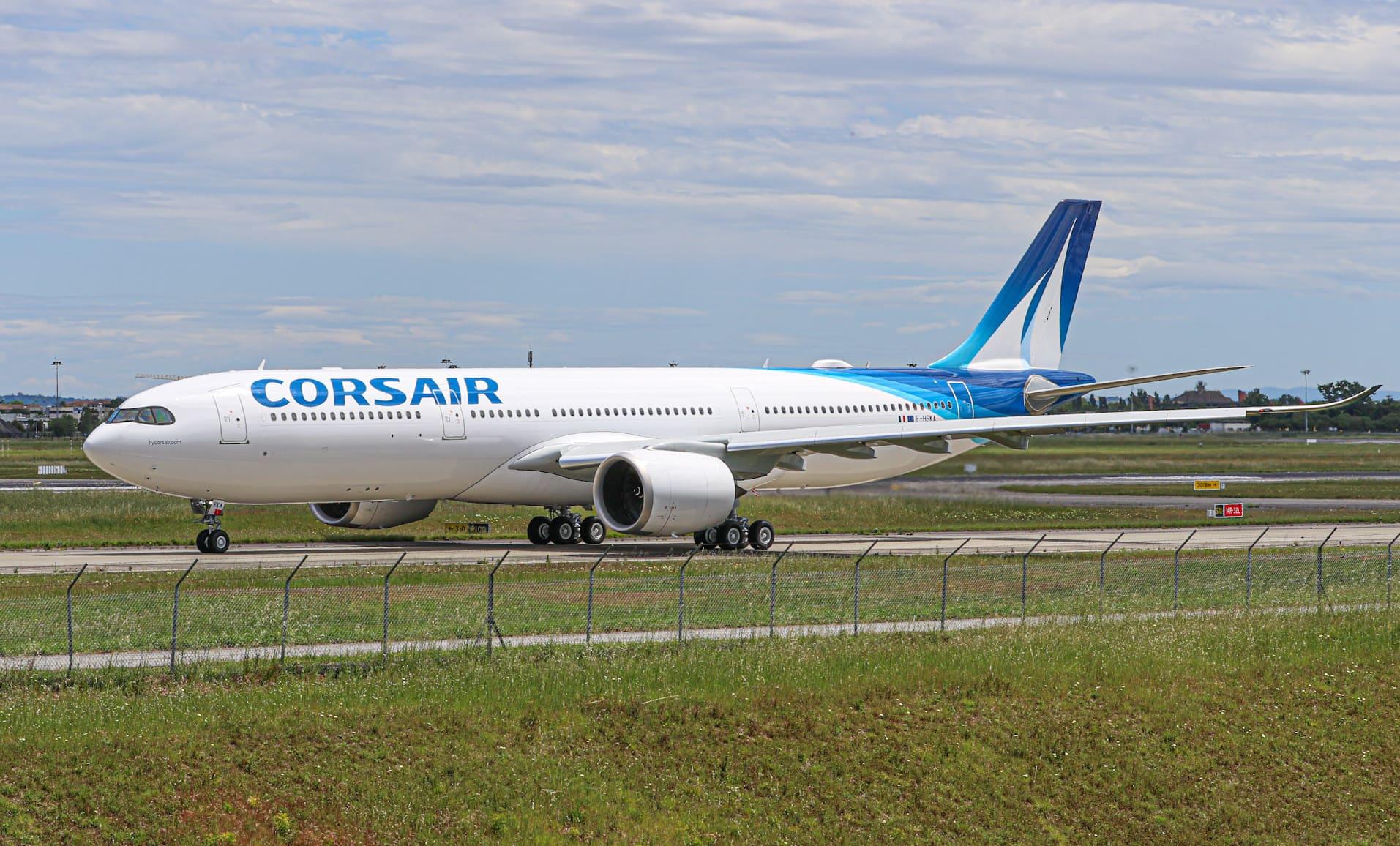 A330neo Corsair (F-HSKA) ce mercredi 12 mai à TLS