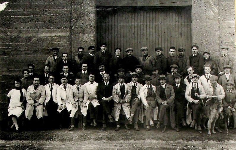 Équipe Dewoitine en 1921