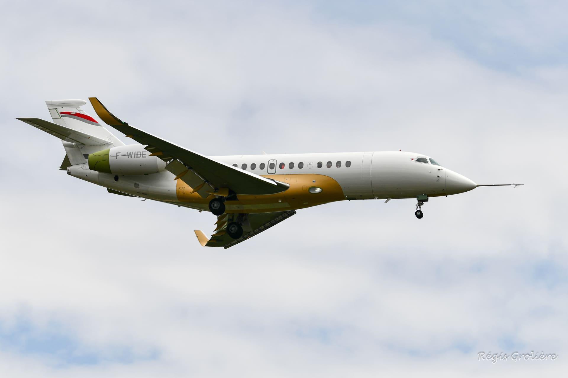 Facon 6X F-WIDE à Bordeaux pour son 1er vol
