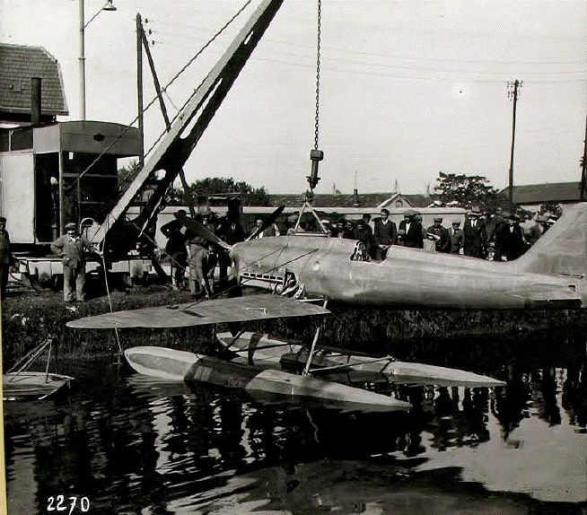 Hydravion testé sur le Canal Midi en 1931