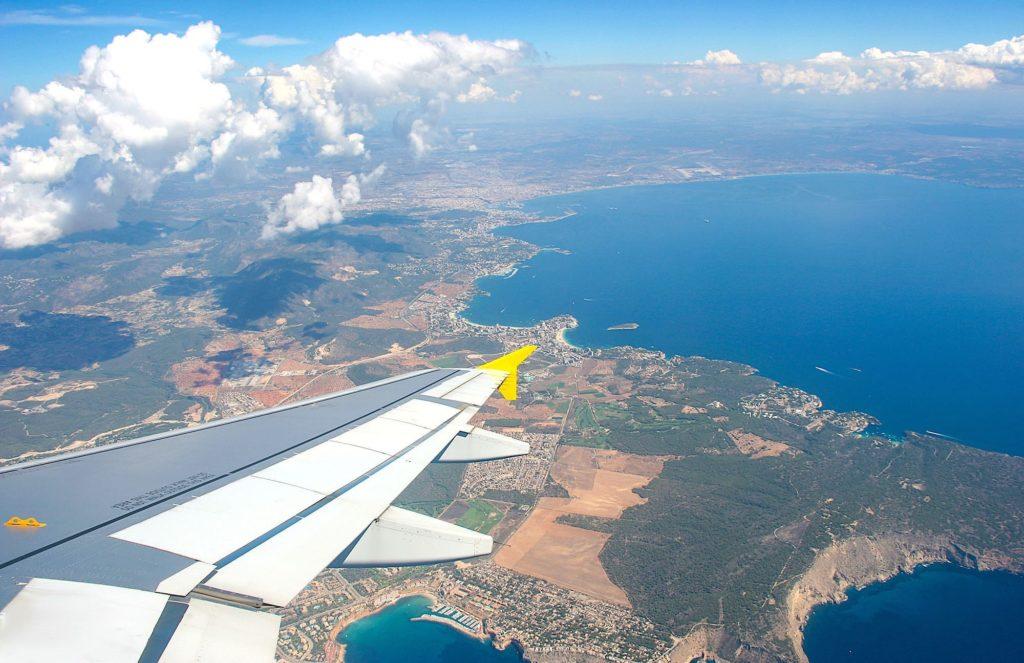 Arrivée à Palma Vueling