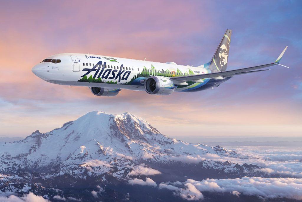 Boeing 737 MAX 9 Alaska ecoDemonstrator