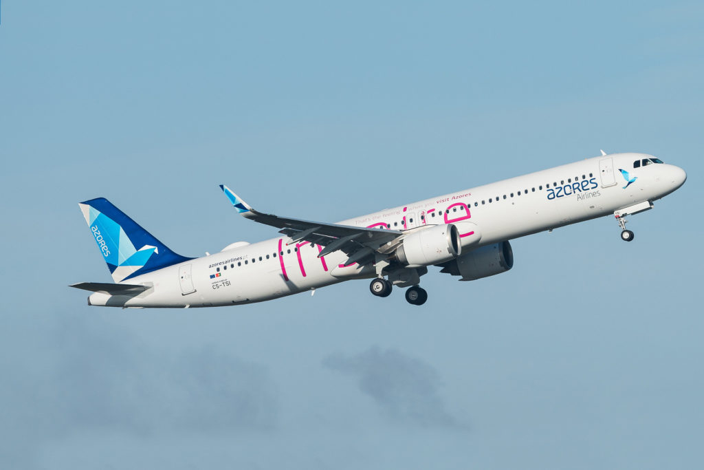 """Airbus A321-253NX Azores Airlines """"Inspire Livery"""" CS-TSI"""