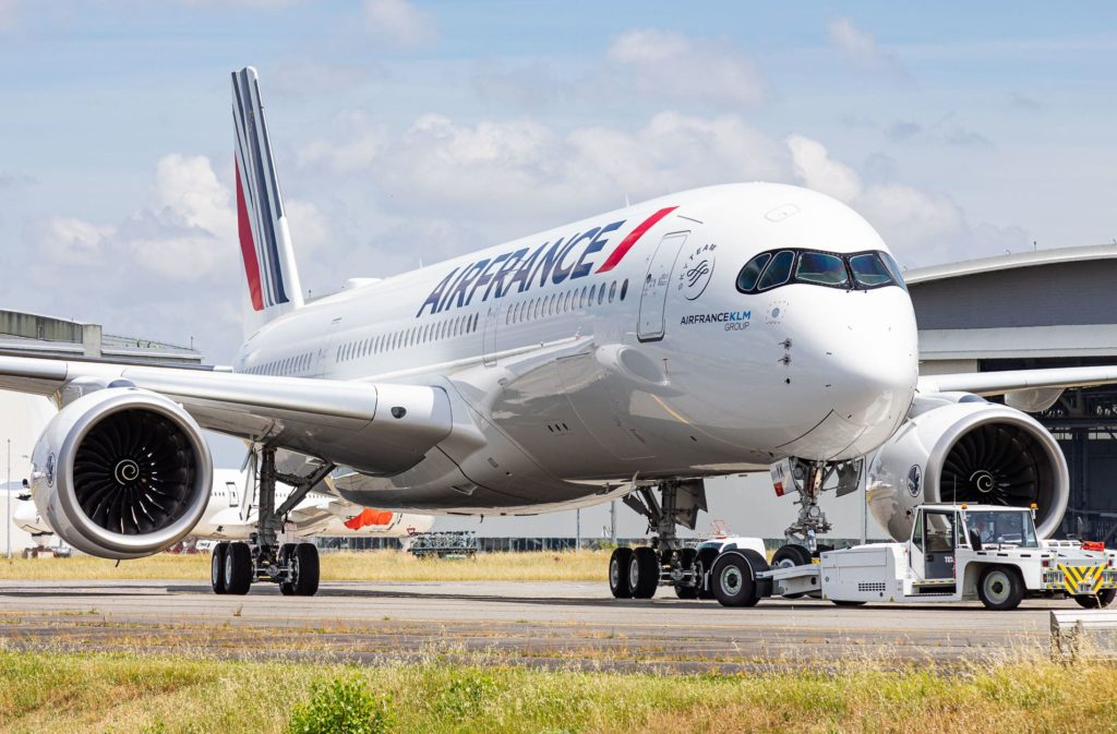 Air France A350-900 F-HTYK / MSN502