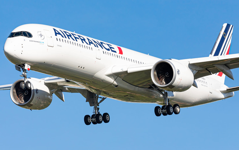 "Air France A350-900 F-HTYJ / MSN500 ""Cannes"""