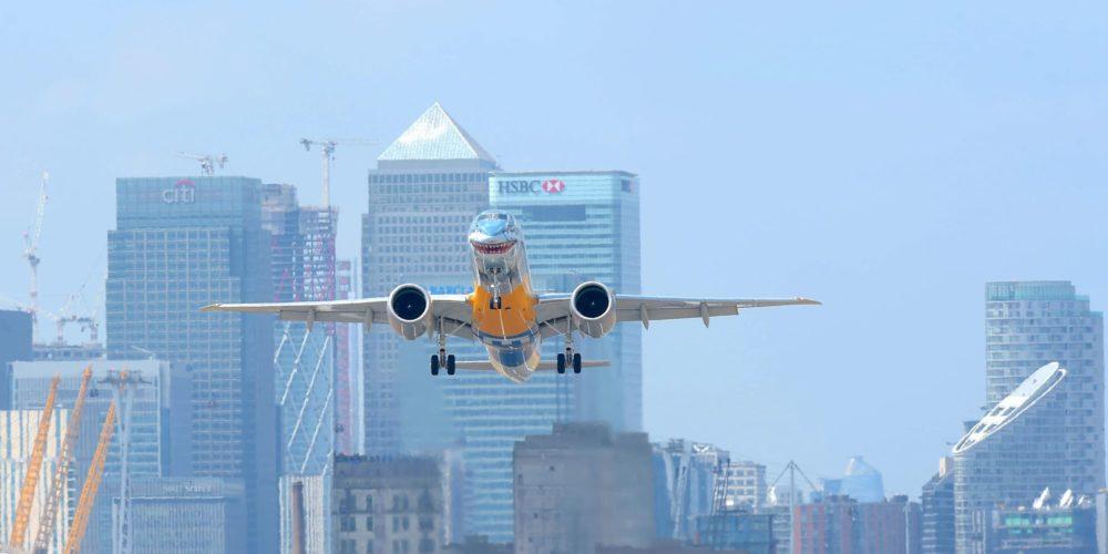 Embraer E190-E2 à London City
