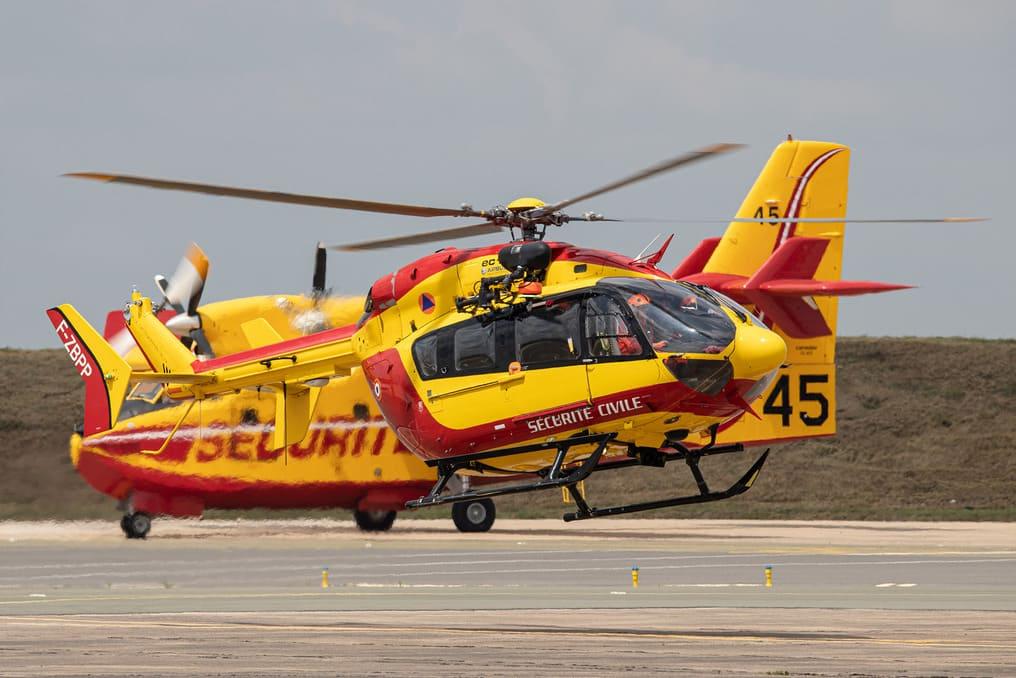 Cl415 et EC145 Sécurité civile