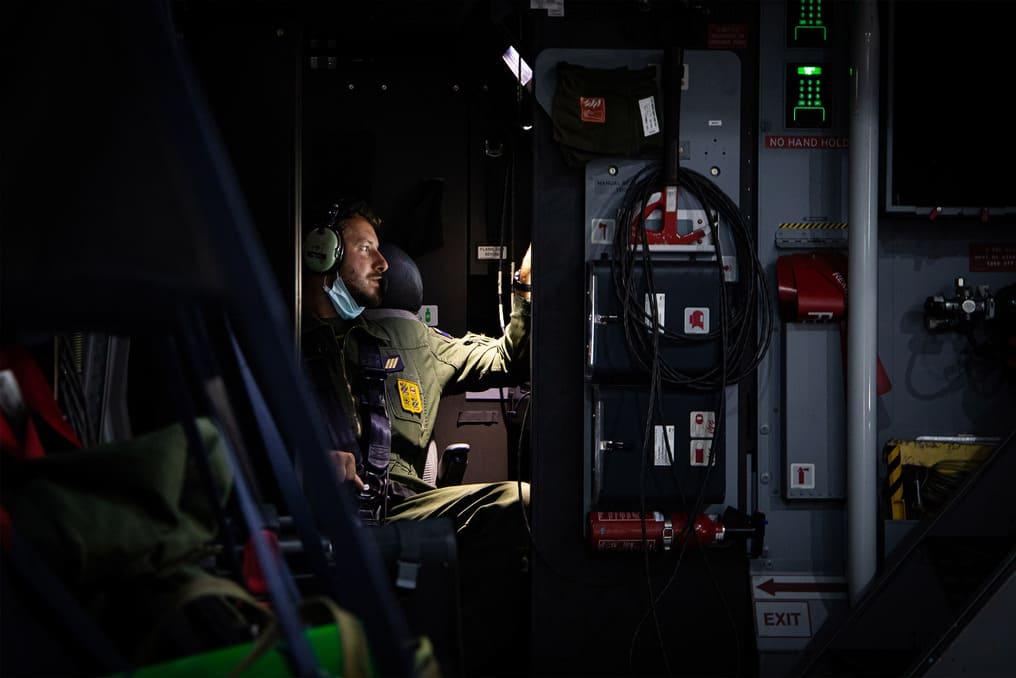 Mecanicien Navigant à bord de l'A400M