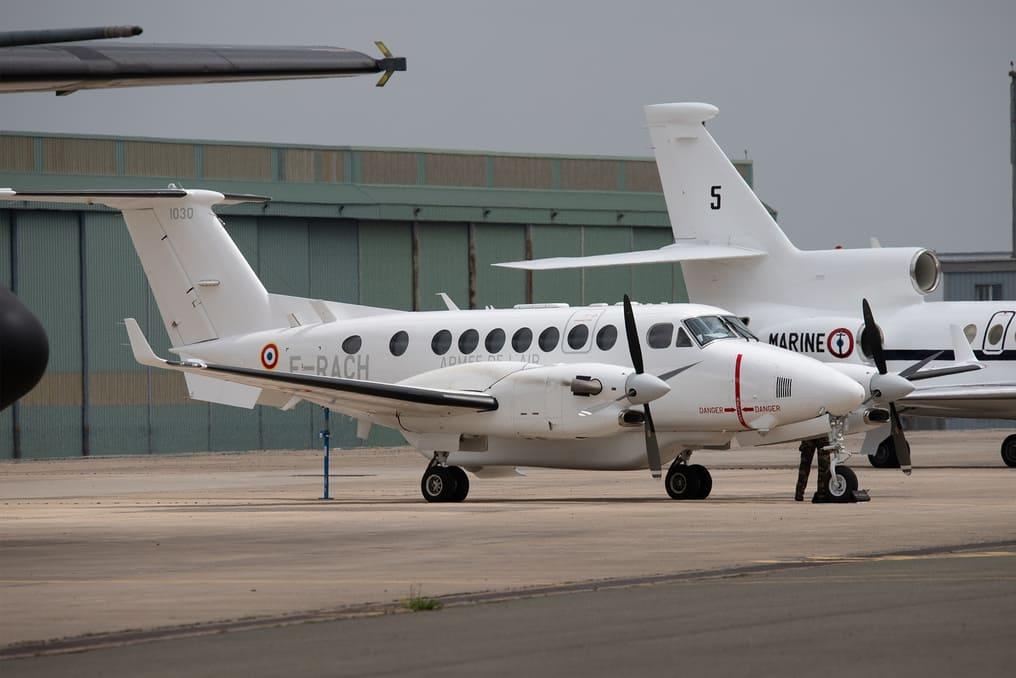 BE350 ALSR «Vador» de l'Escadron électronique aéroporté (EEA) 1/54 « Dunkerque »