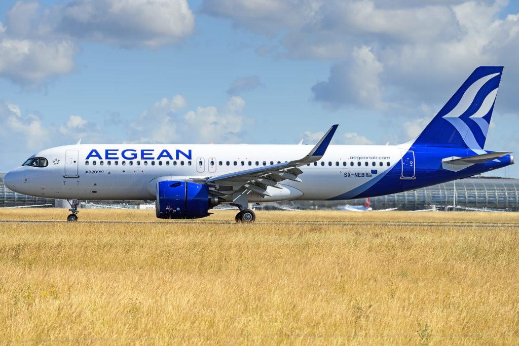 Aegean A320Neo SX-NEB