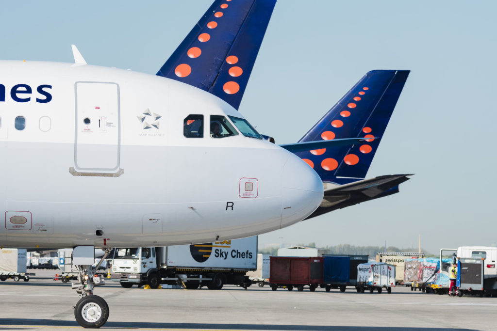A320 Brussels Airlines au roulage