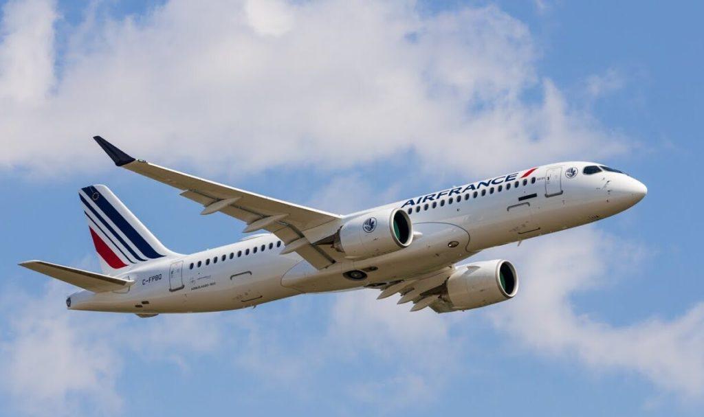 F-HZUA 1er A220-300 Air France [msn55134]