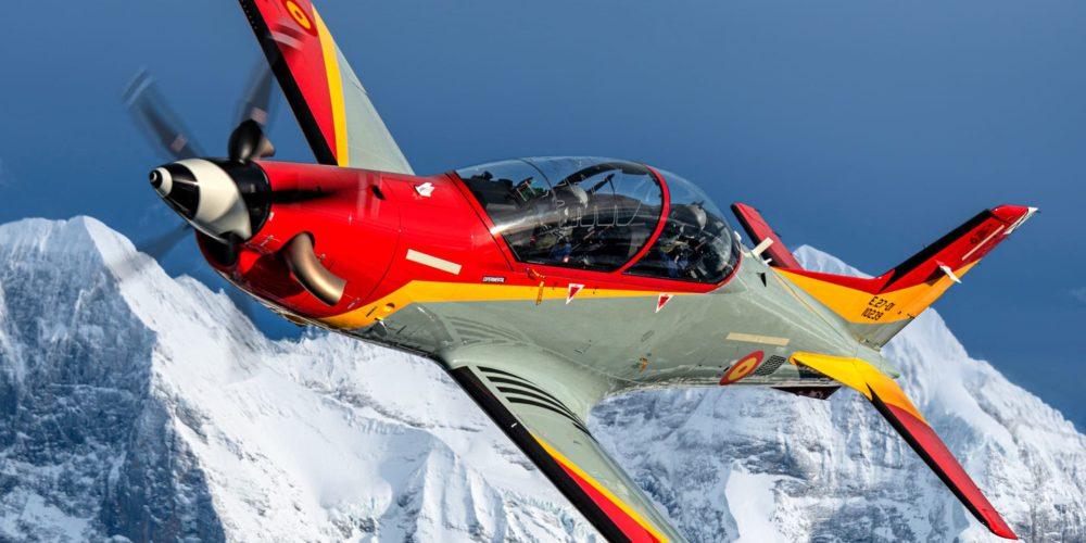 1er PC-21 de l'Armée de l'air espagnole