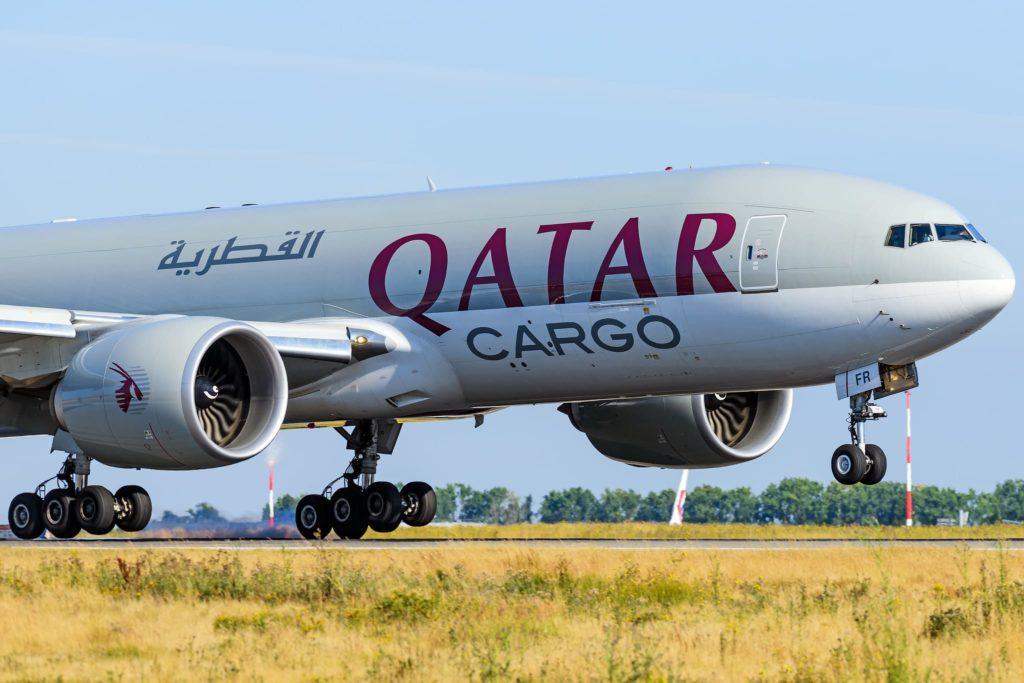 Qatar Airways Cargo B777F / A7-BFR