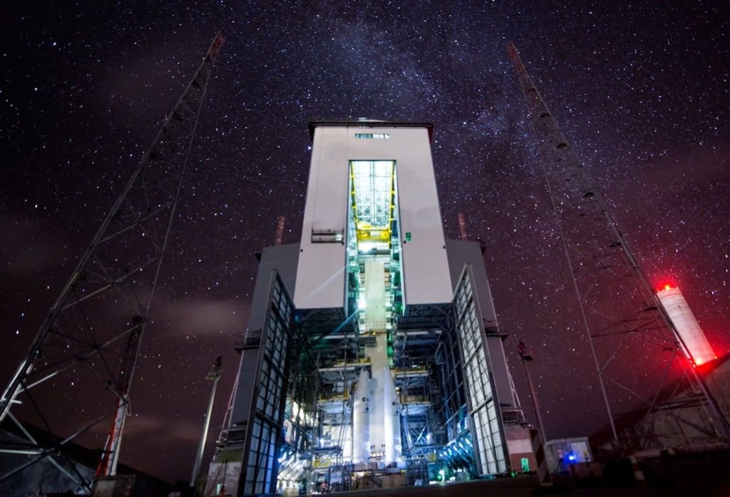 Pas de tir Ariane 6 - Kourou