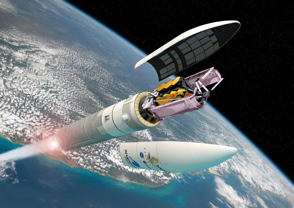 Ariane 5 et le telescope Webb