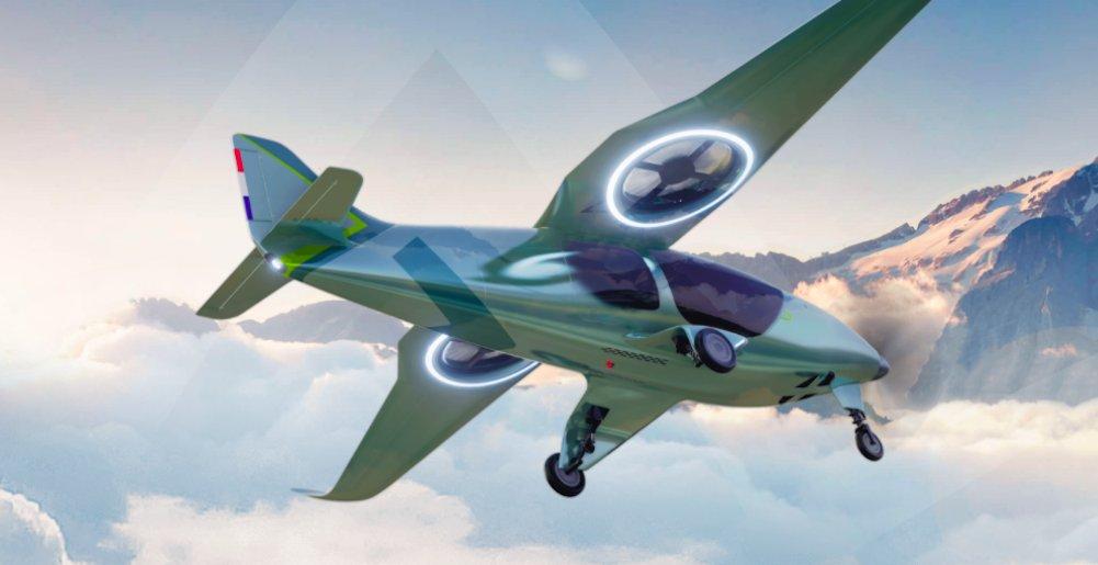 Avion VTOL Atea