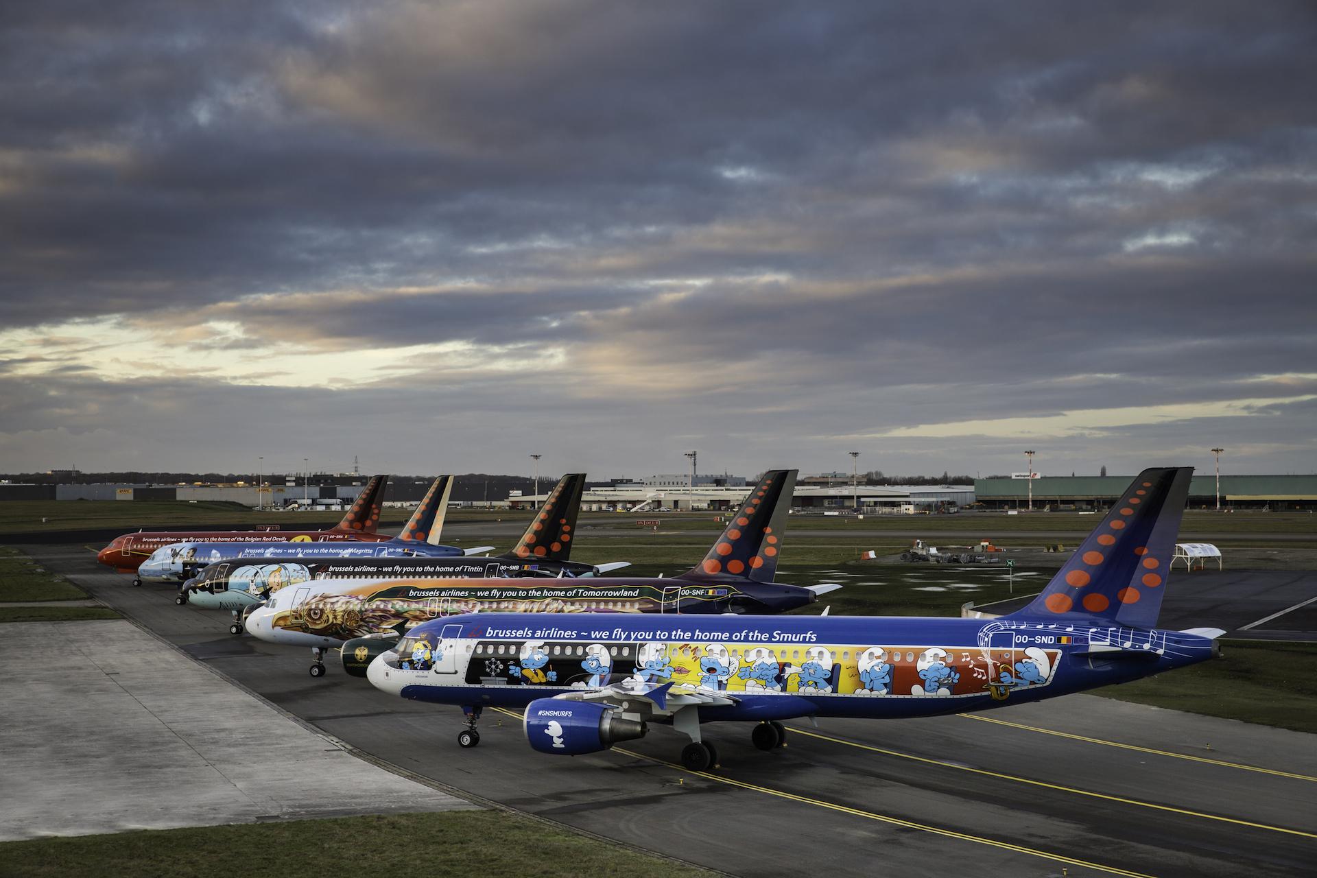 Brussels Airlines A320 Icons