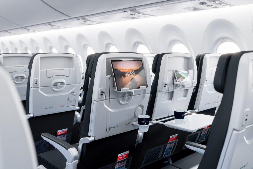 Cabine A220-300 Air France [msn55134]