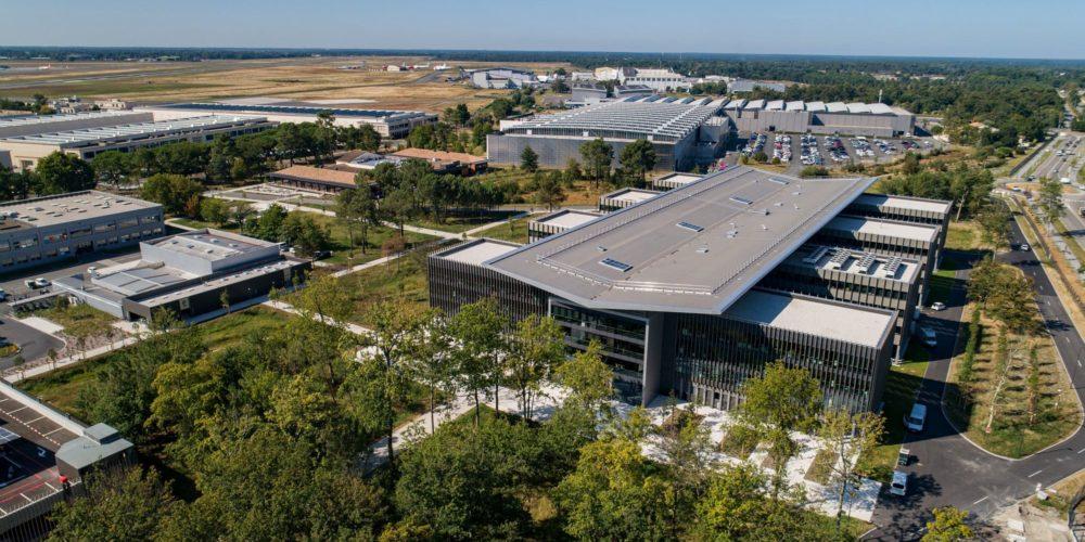 Nouveau bâtiment à Bordeaux-Mérignac