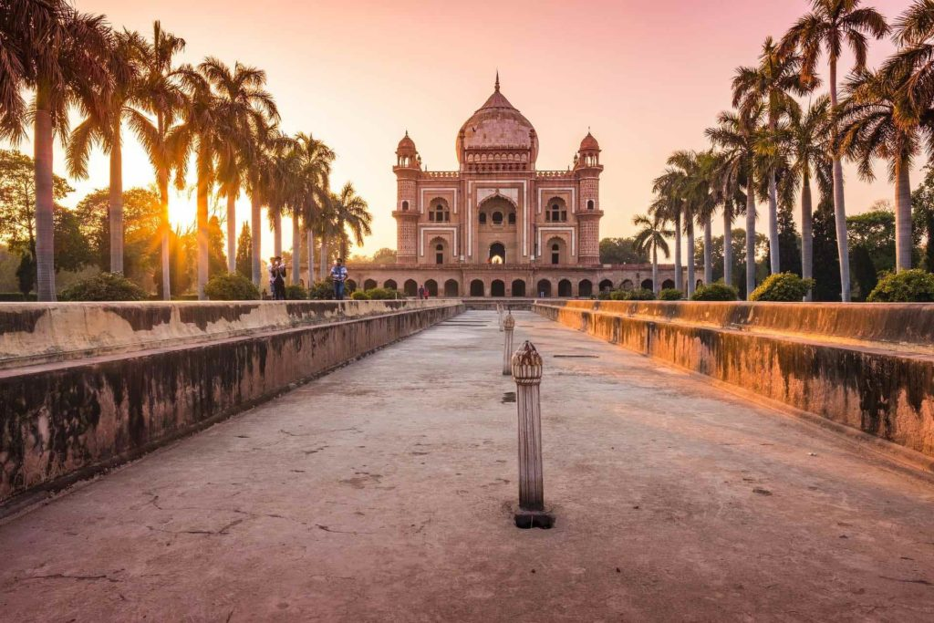 Temple à Delhi -Inde