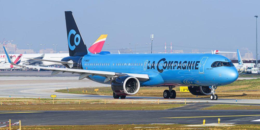 La Compagnie Airbus A321neo LR / F-HNCO