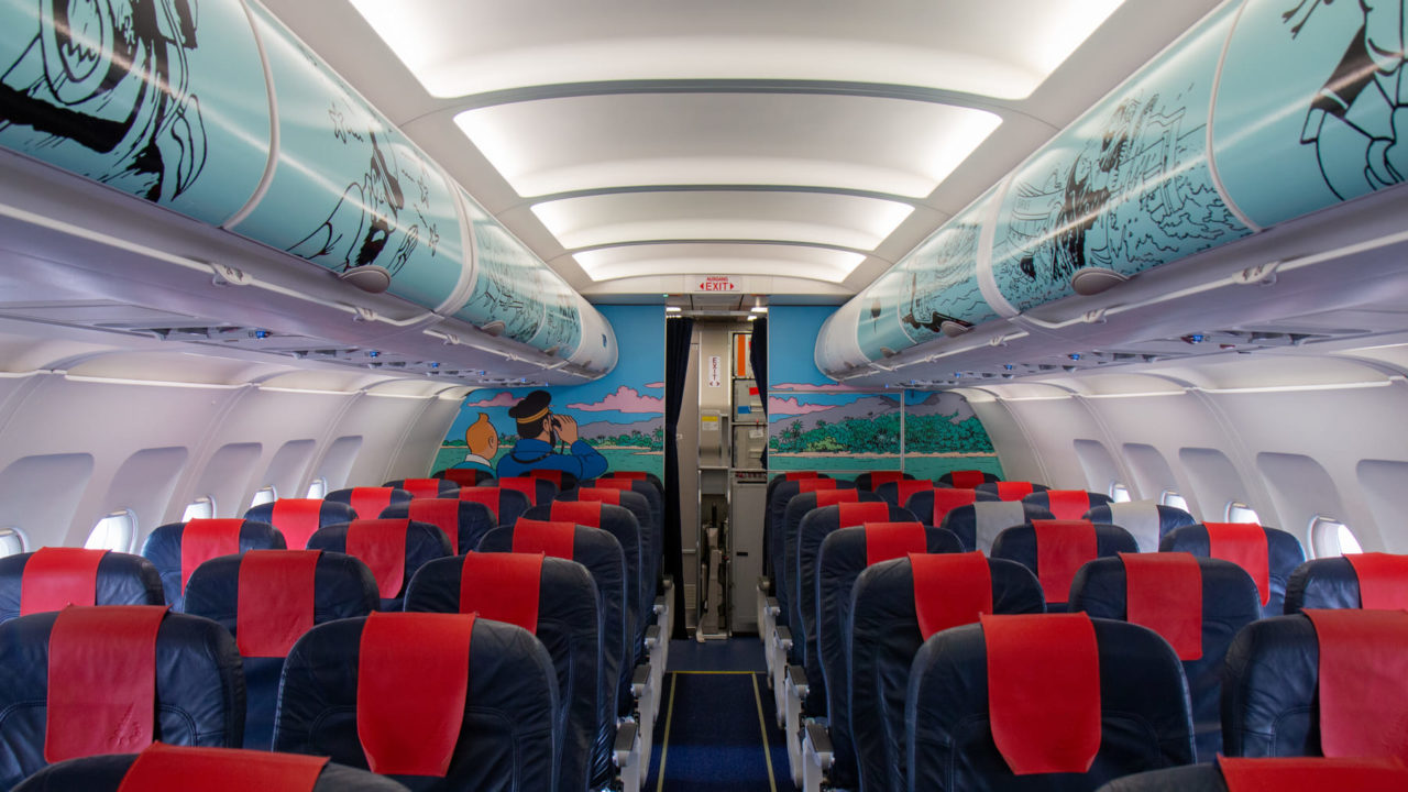 Brussels Airlines A320 Rackham