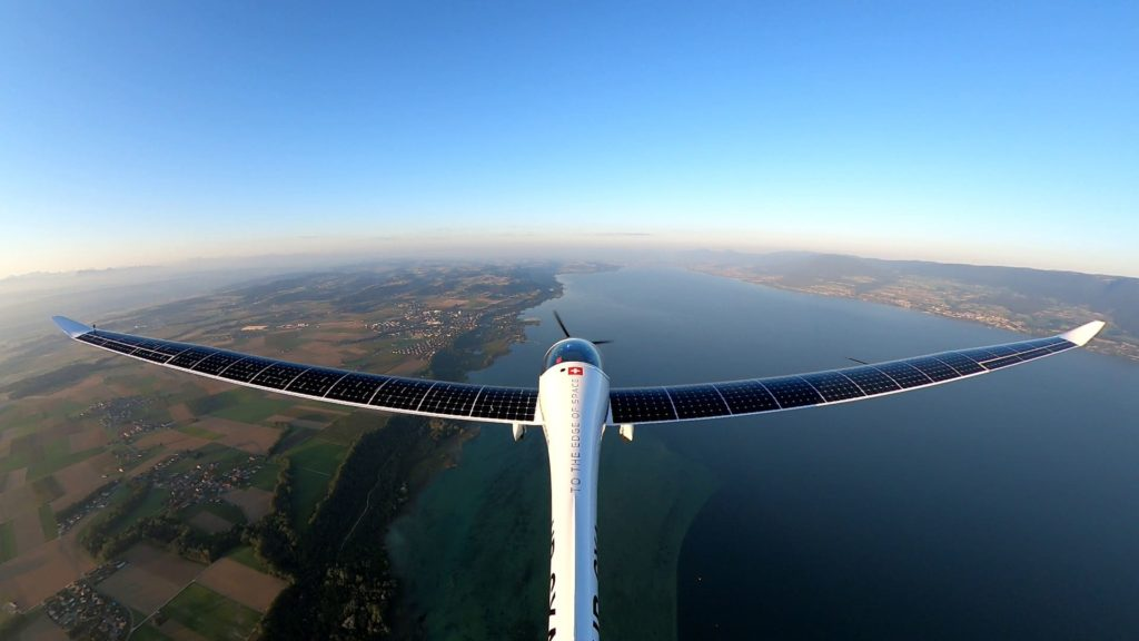 1er vol solo SolarStratos