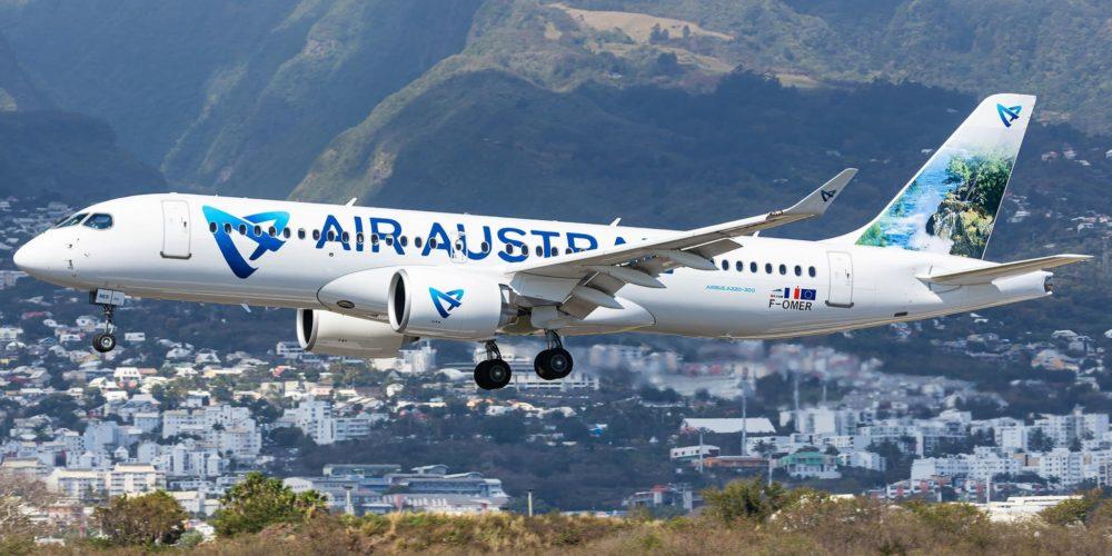 A220-300 Air Austral F-OMER