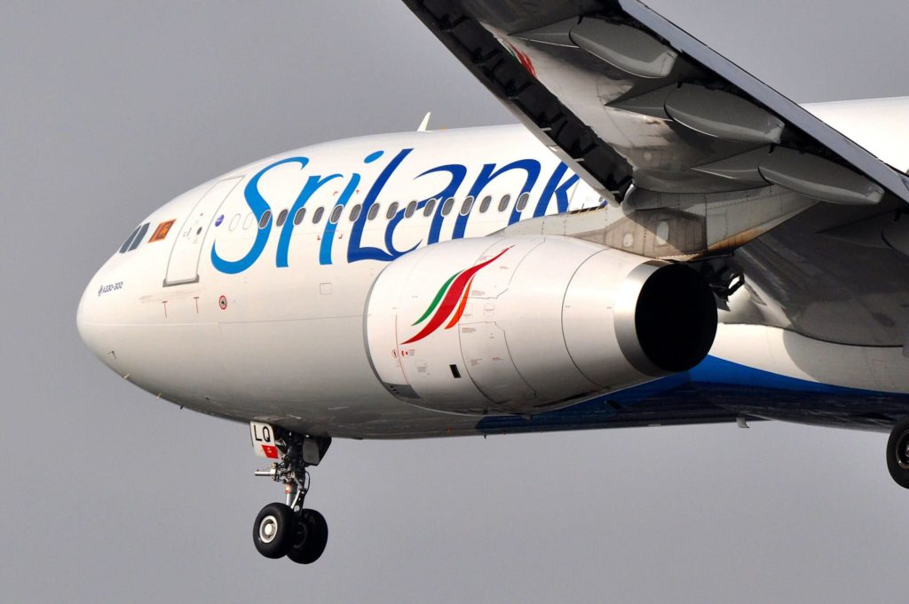 SriLankan Airlines A300-300